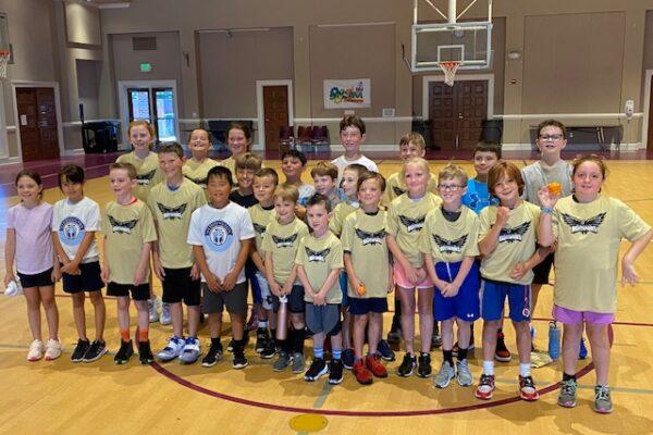 Young Group Basketball